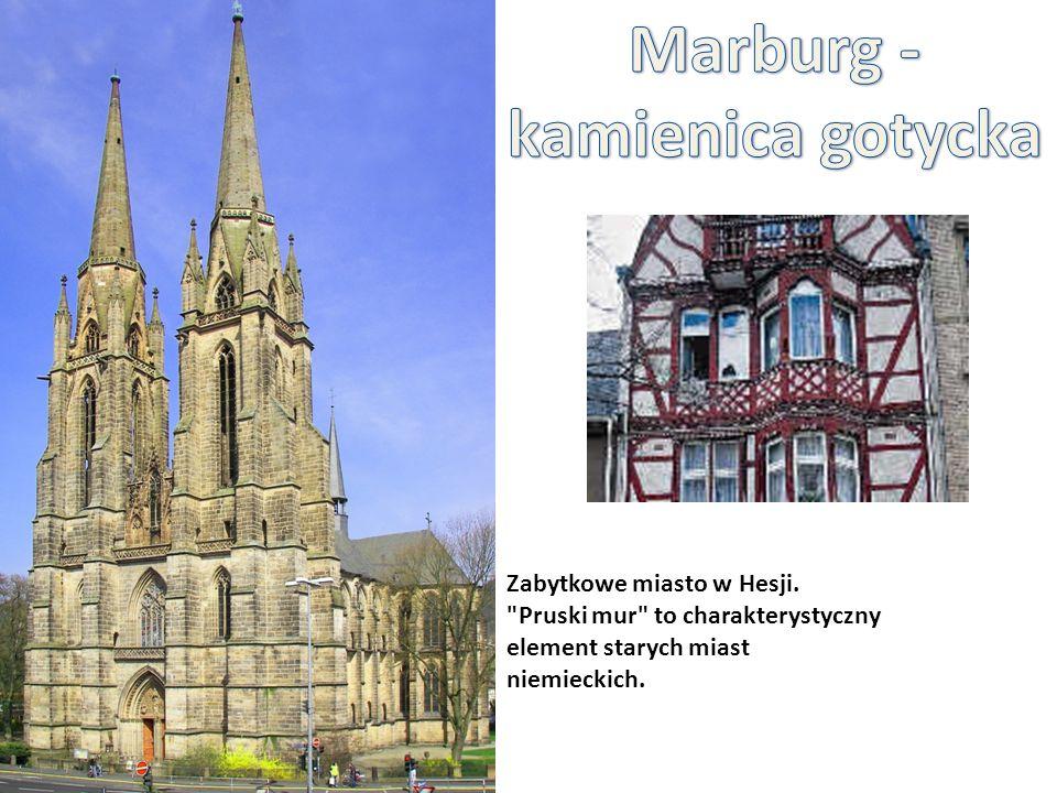 Marburg - kamienica gotycka