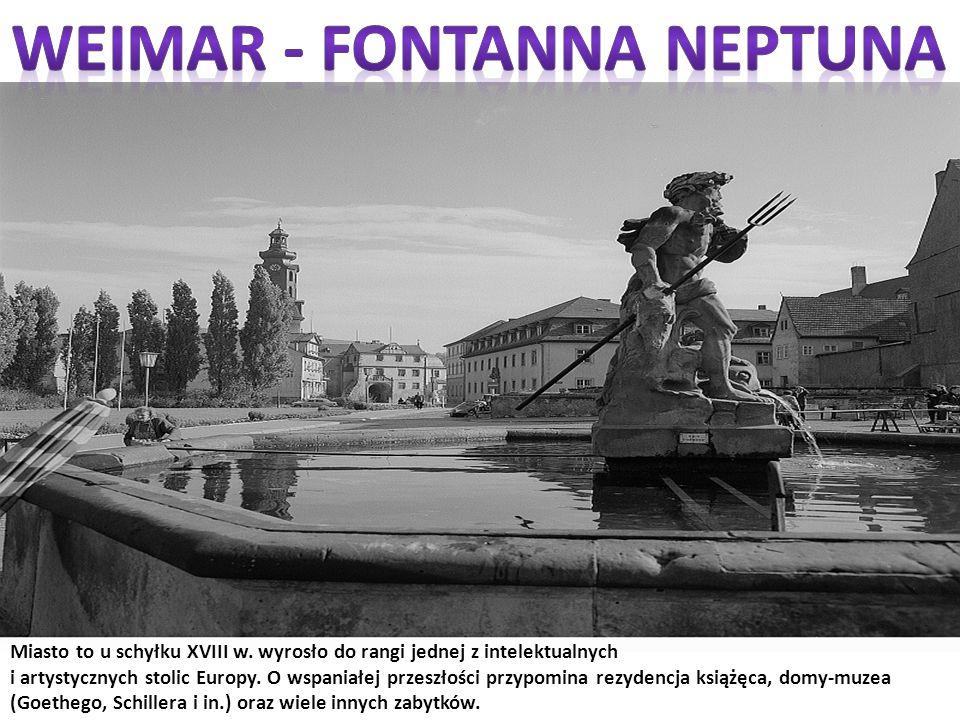 Weimar - fontanna Neptuna