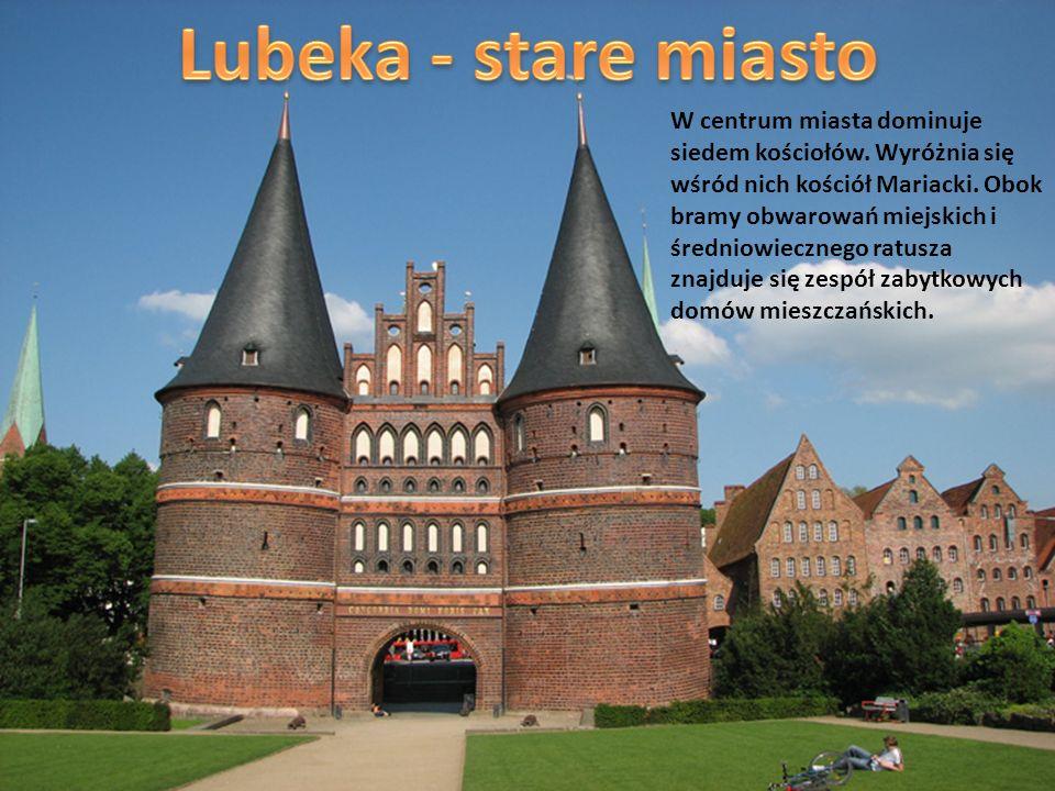 Lubeka - stare miasto