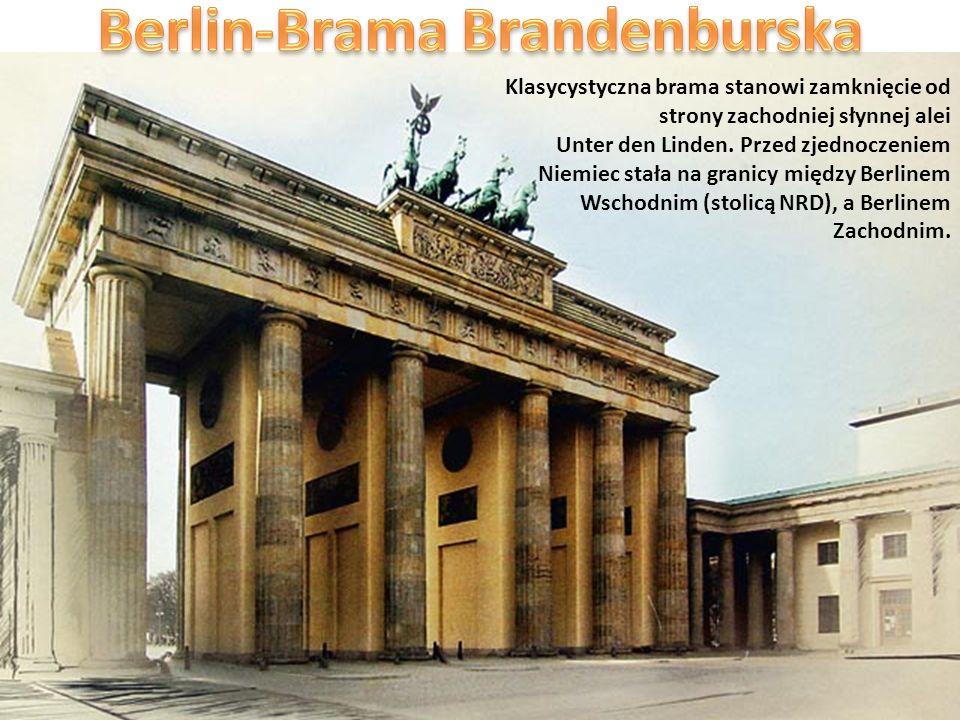Berlin-Brama Brandenburska