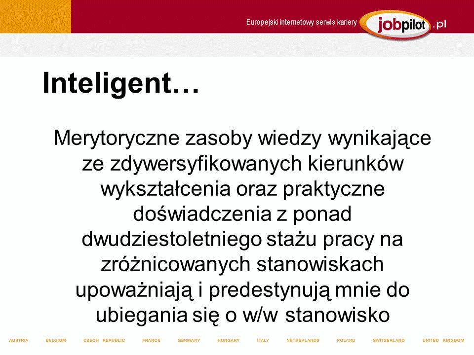 Inteligent…