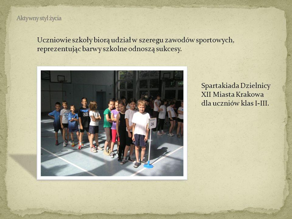 Spartakiada Dzielnicy XII Miasta Krakowa dla uczniów klas I-III.