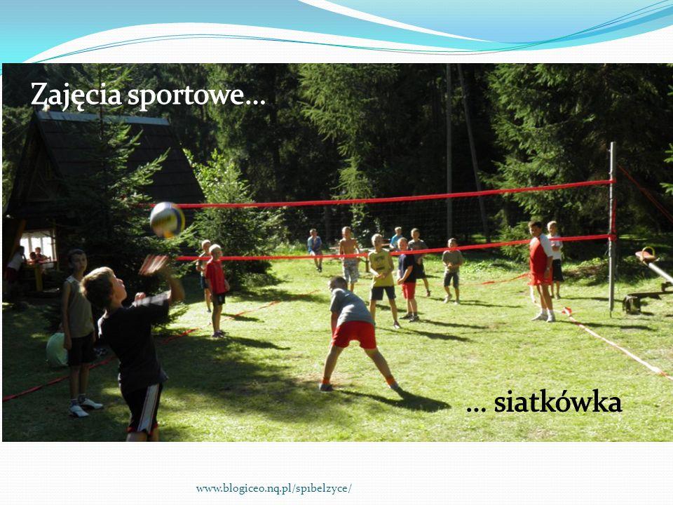 Zajęcia sportowe… … siatkówka www.blogiceo.nq.pl/sp1belzyce/