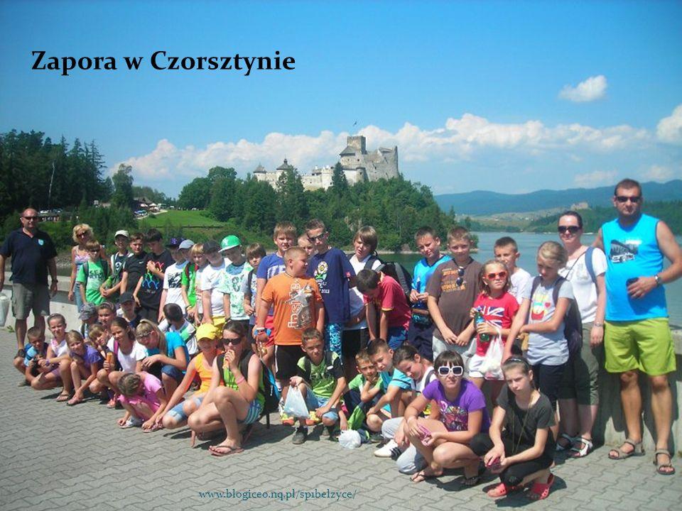 Zapora w Czorsztynie www.blogiceo.nq.pl/sp1belzyce/