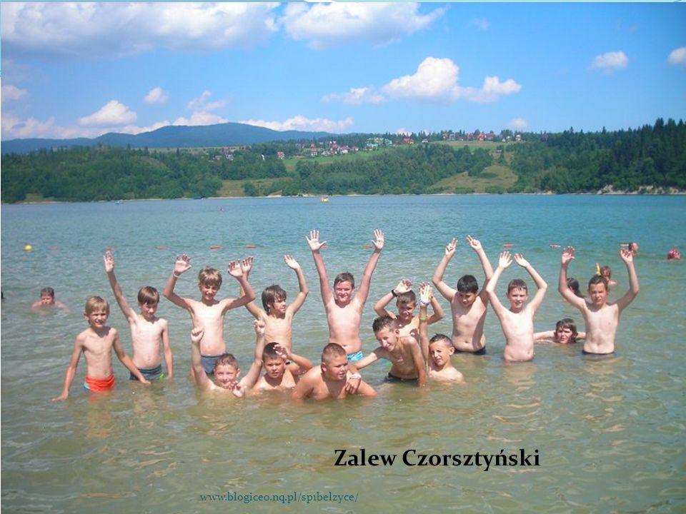 Zalew Czorsztyński www.blogiceo.nq.pl/sp1belzyce/
