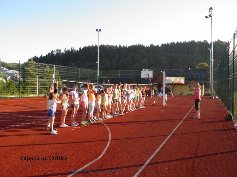 Zajęcia na Orliku www.blogiceo.nq.pl/sp1belzyce/