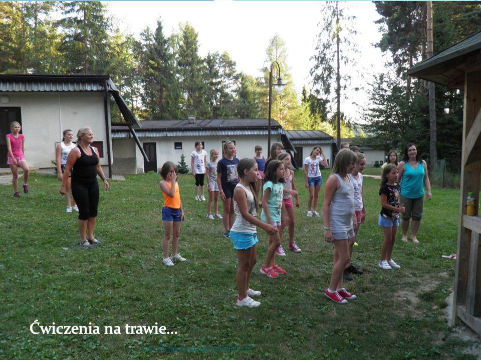Ćwiczenia na trawie… www.blogiceo.nq.pl/sp1belzyce/