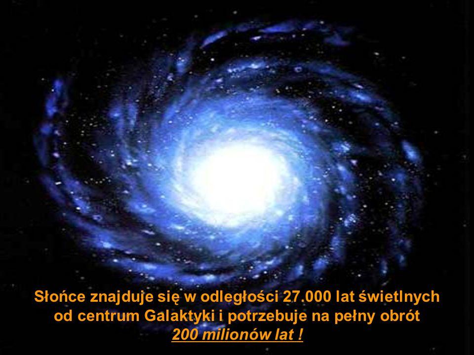 Słońce znajduje się w odległości 27.000 lat świetlnych