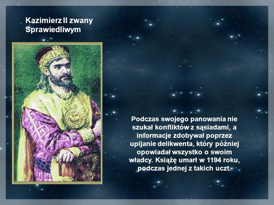 Kazimierz II zwany Sprawiedliwym