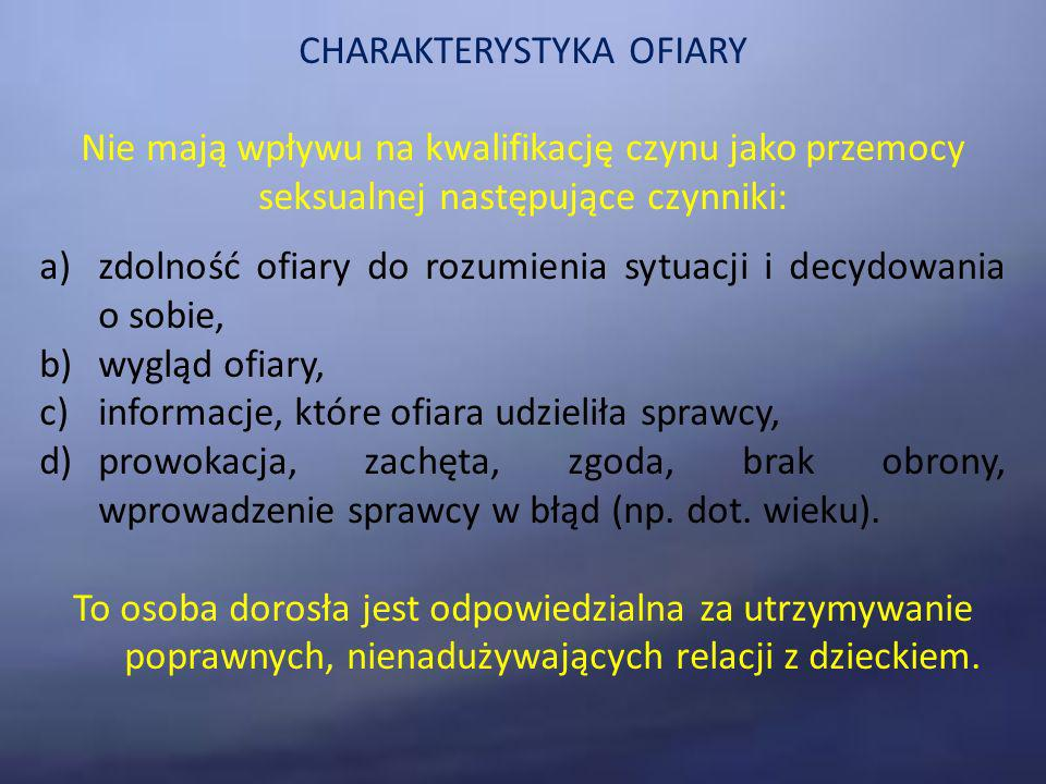 CHARAKTERYSTYKA OFIARY
