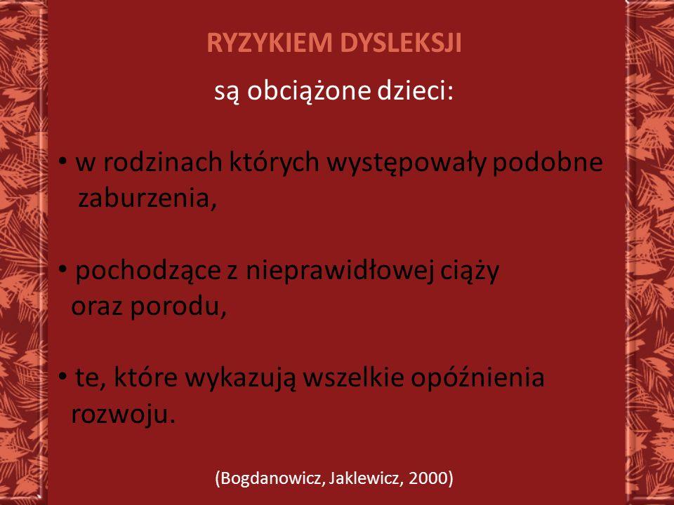 (Bogdanowicz, Jaklewicz, 2000)