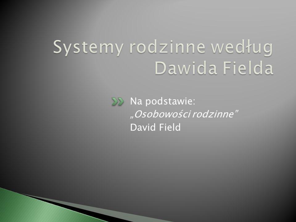 Systemy rodzinne według Dawida Fielda