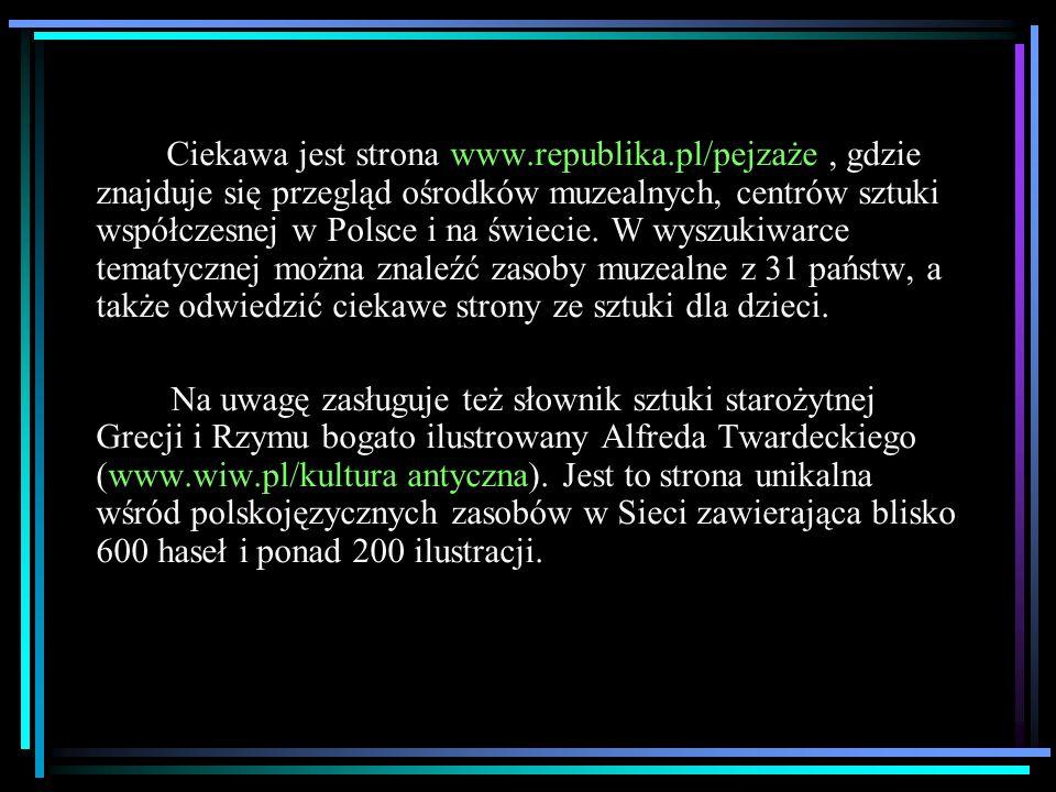 Ciekawa jest strona www. republika