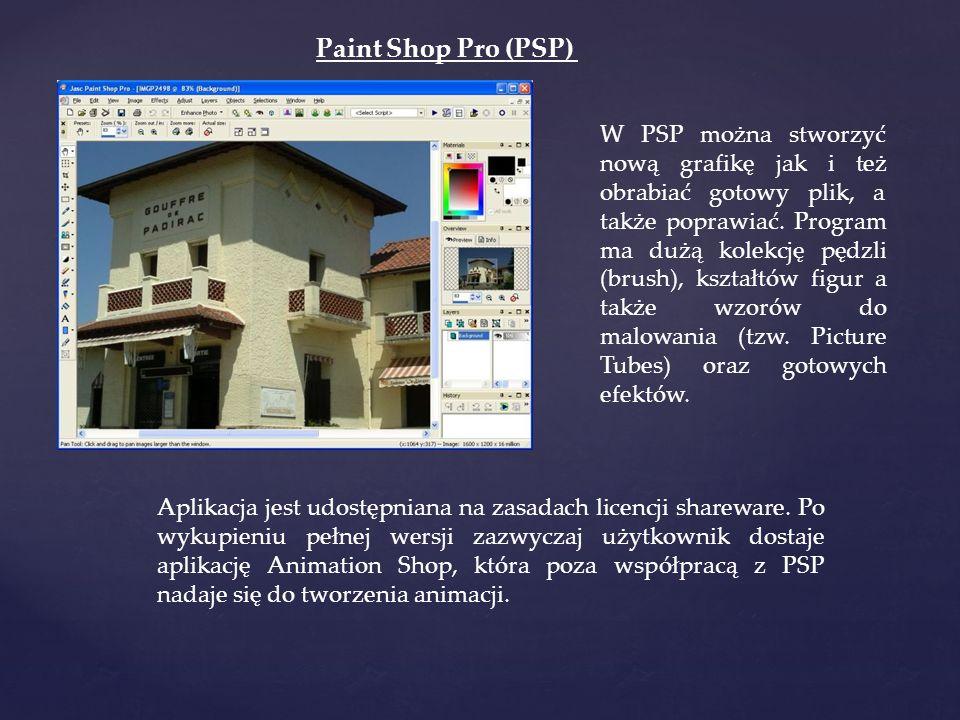 Paint Shop Pro (PSP)