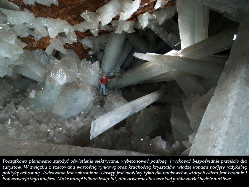 Początkowo planowano założyć oświetlenie elektryczne, wybetonować podłogę i wykopać bezpośrednie przejście dla turystów.