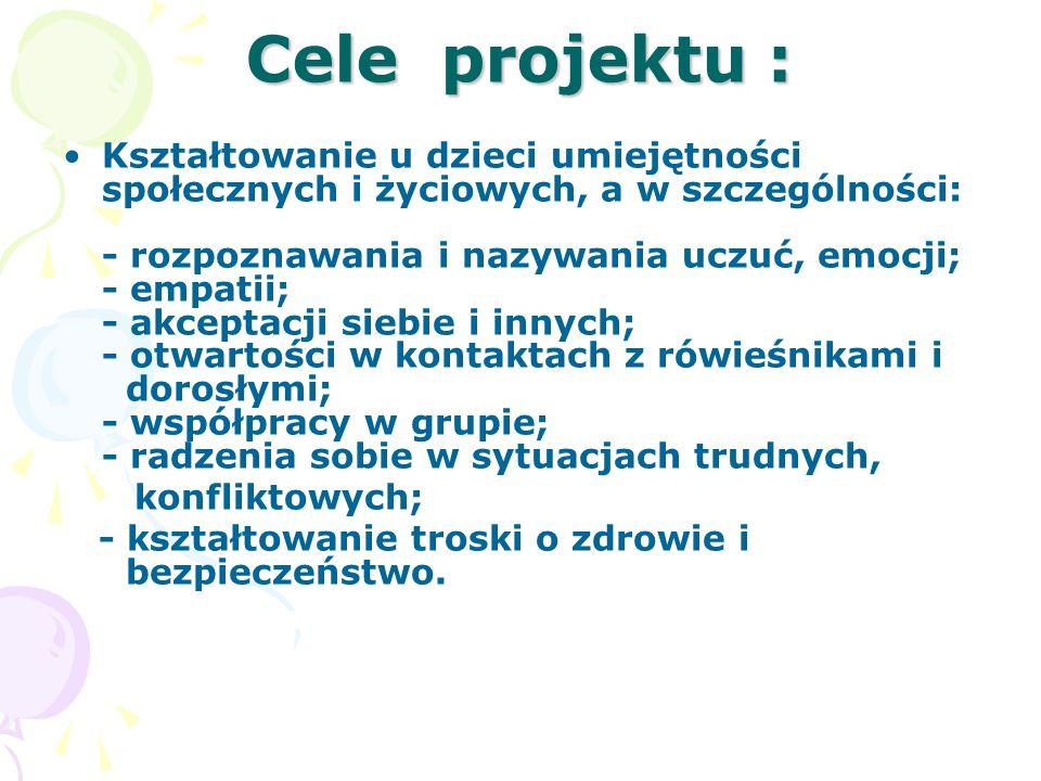 Cele projektu :