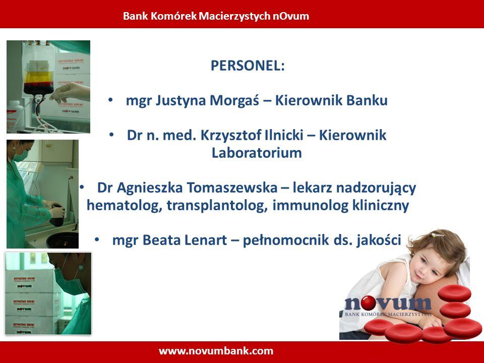mgr Justyna Morgaś – Kierownik Banku