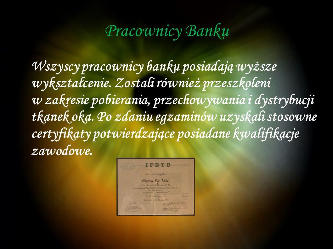 Pracownicy Banku