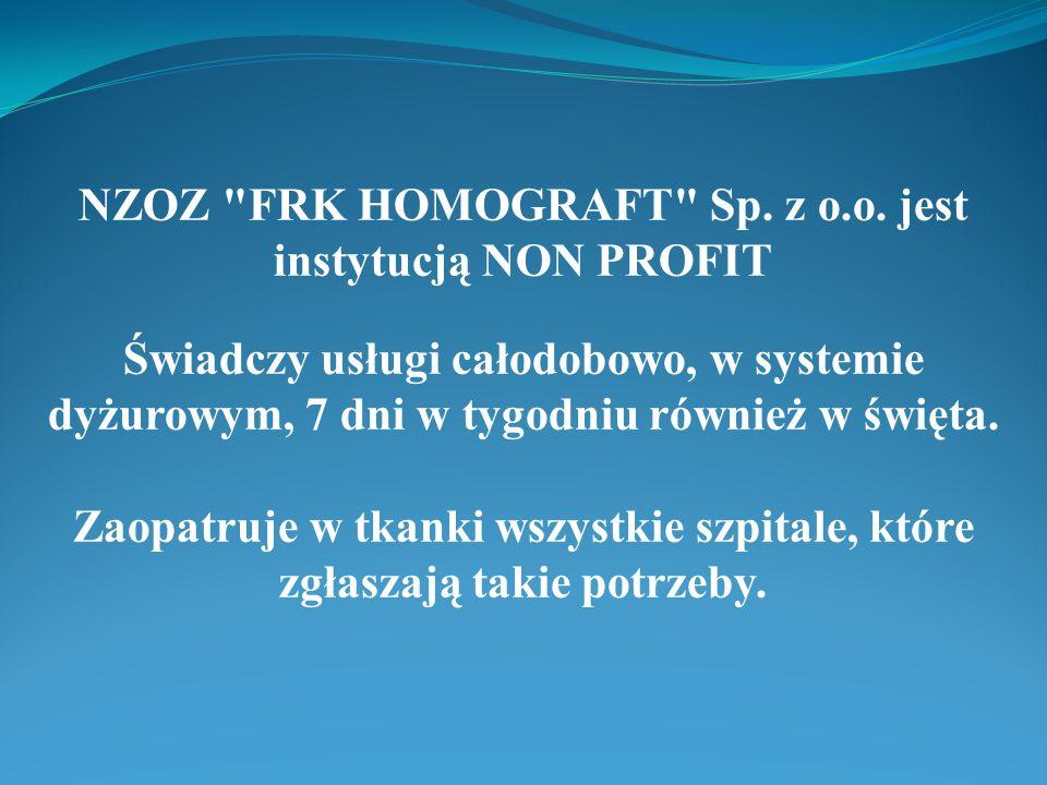 NZOZ FRK HOMOGRAFT Sp. z o. o