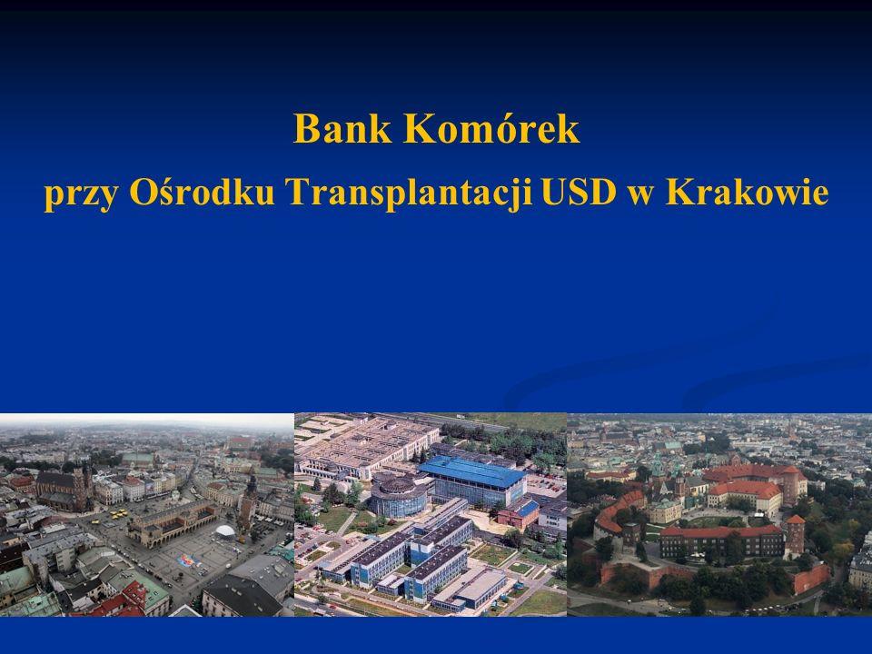 przy Ośrodku Transplantacji USD w Krakowie
