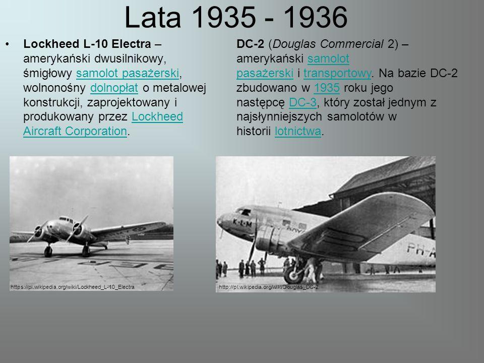 Lata 1935 - 1936