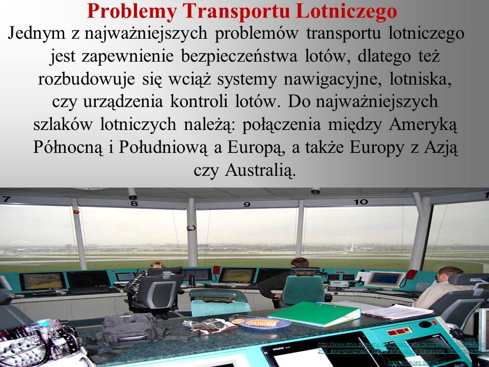 Problemy Transportu Lotniczego