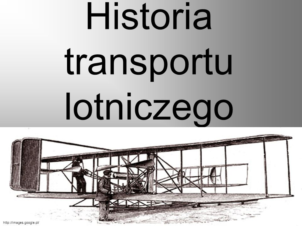 Historia transportu lotniczego