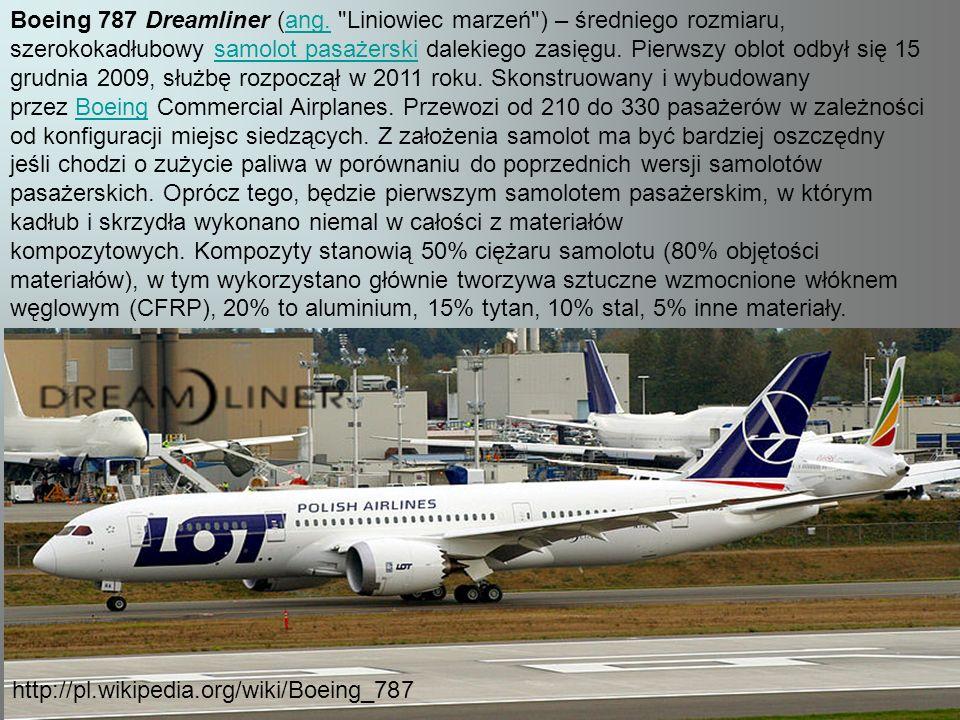 Boeing 787 Dreamliner (ang