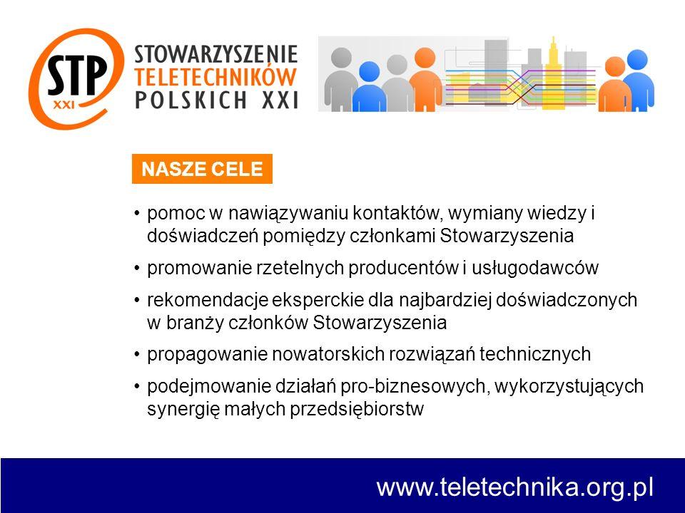 www.teletechnika.org.pl NASZE CELE