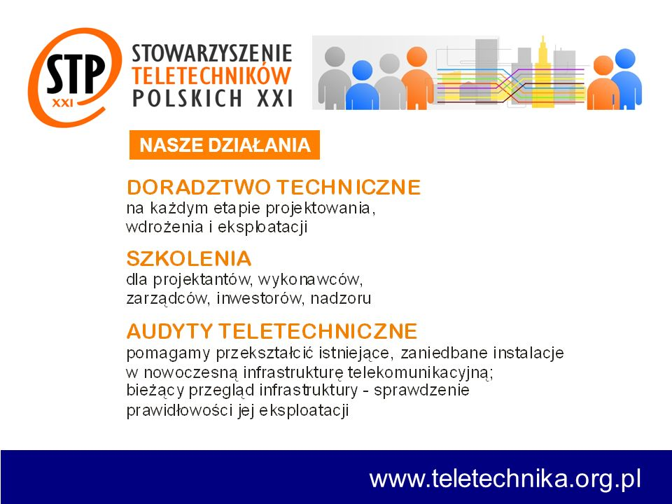 NASZE DZIAŁANIA www.teletechnika.org.pl