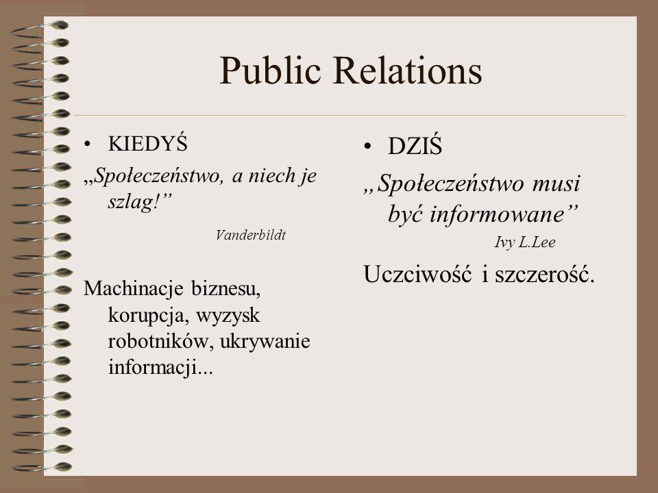 """Public Relations DZIŚ """"Społeczeństwo musi być informowane"""