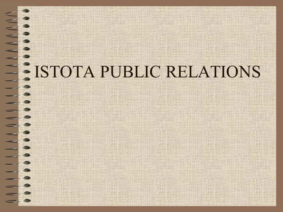 ISTOTA PUBLIC RELATIONS
