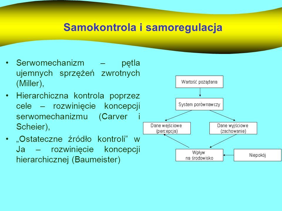 Samokontrola i samoregulacja