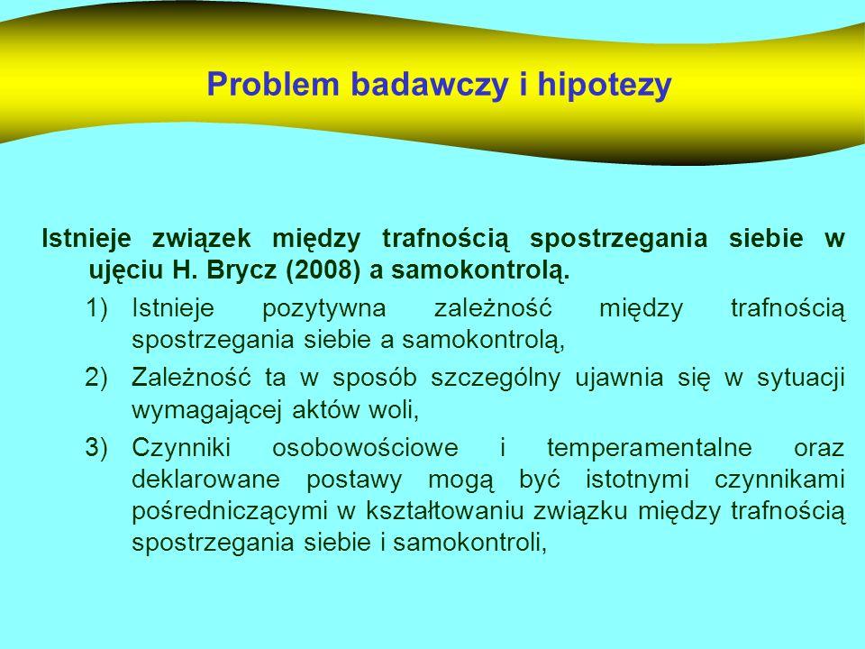 Problem badawczy i hipotezy