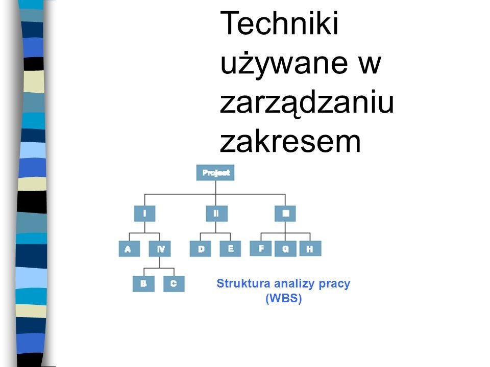 Struktura analizy pracy (WBS)