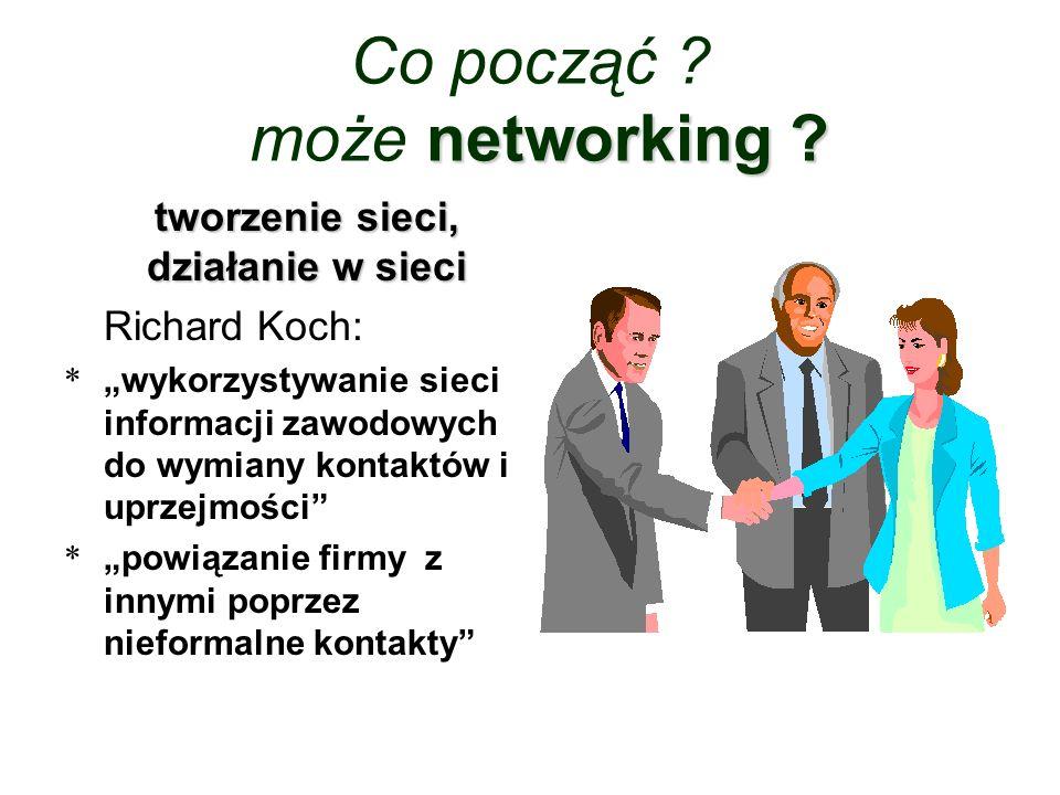 Co począć może networking