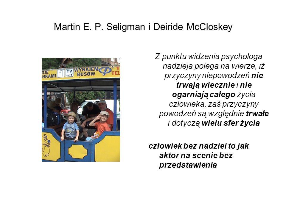 Martin E. P. Seligman i Deiride McCloskey