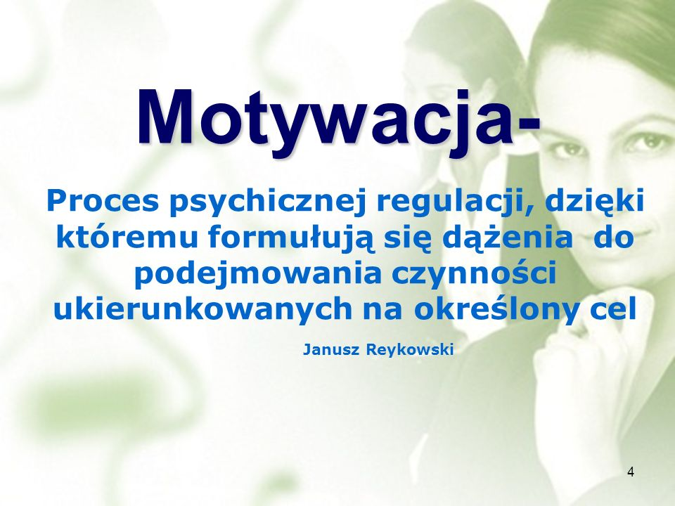 Motywacja-