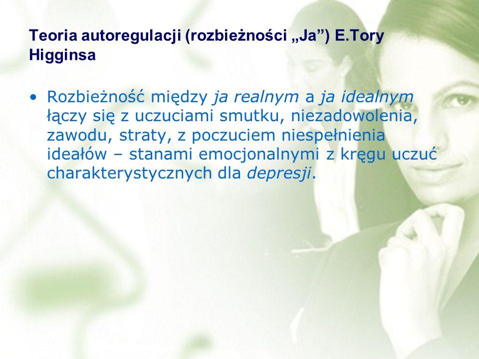 "Teoria autoregulacji (rozbieżności ""Ja ) E.Tory Higginsa"