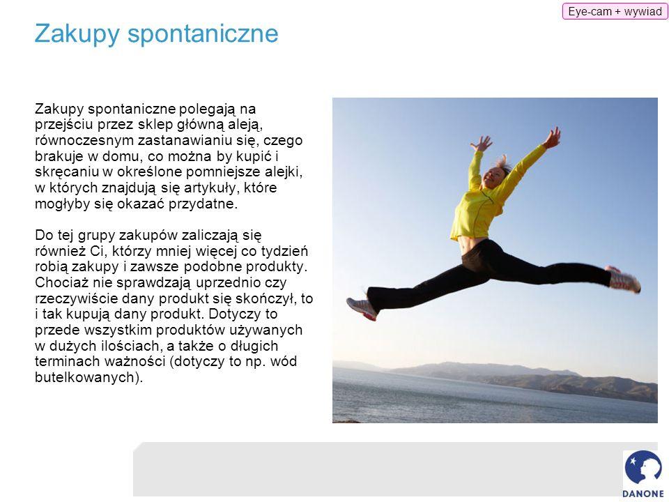 Eye-cam + wywiad Zakupy spontaniczne.