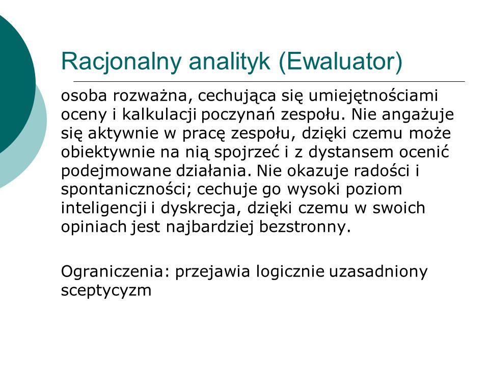 Racjonalny analityk (Ewaluator)