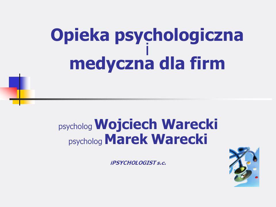 Opieka psychologiczna i medyczna dla firm
