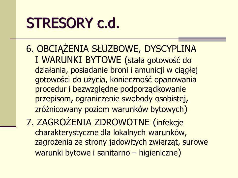 STRESORY c.d.