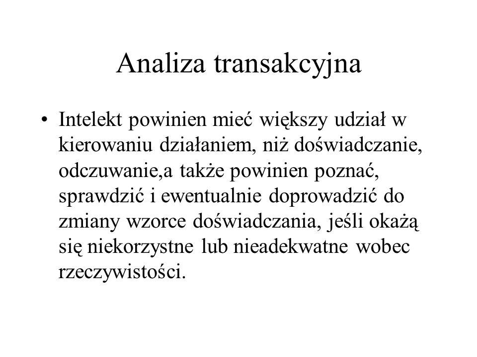 Analiza transakcyjna