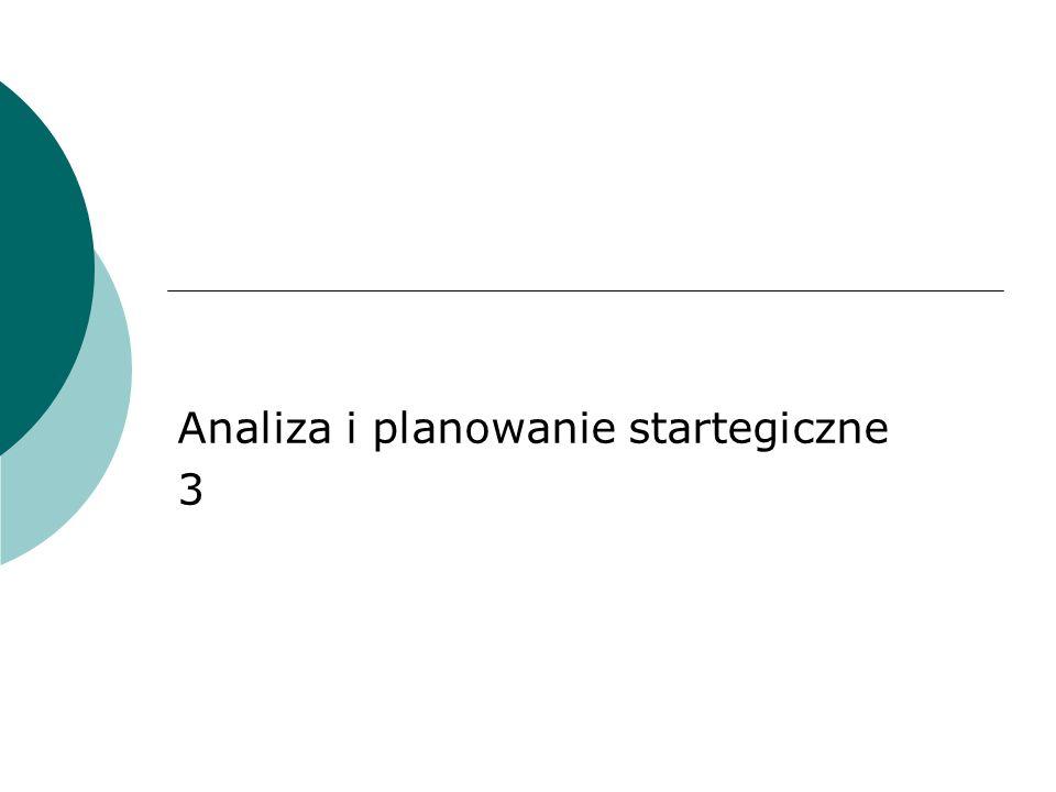Analiza i planowanie startegiczne 3