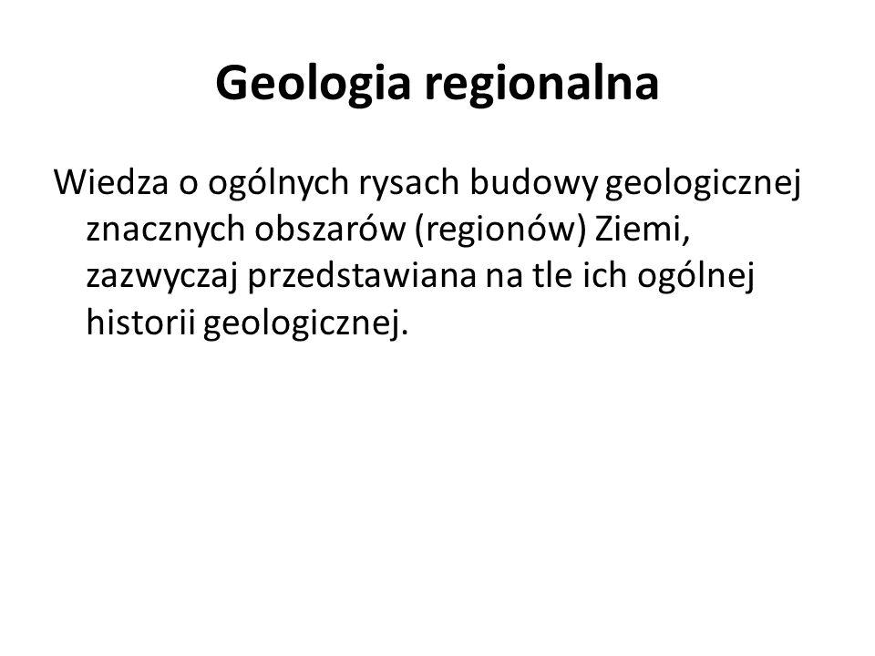 Geologia regionalna