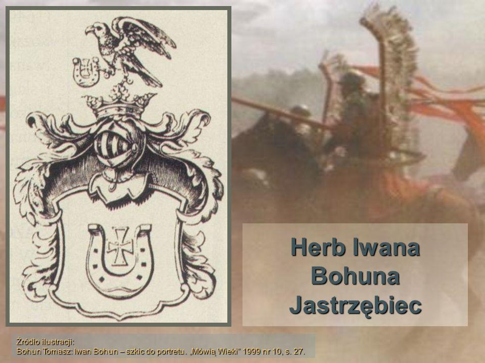 Herb Iwana Bohuna Jastrzębiec