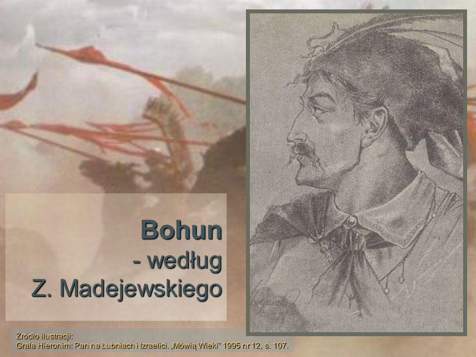 Bohun - według Z. Madejewskiego