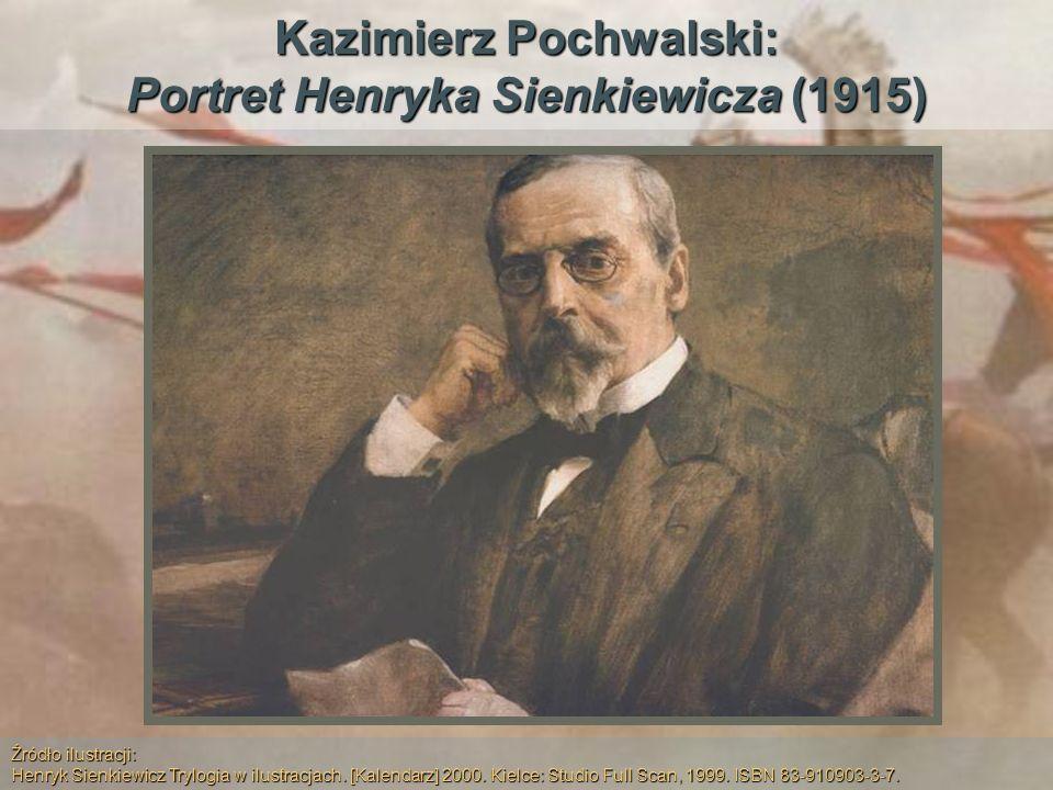 Kazimierz Pochwalski: Portret Henryka Sienkiewicza (1915)