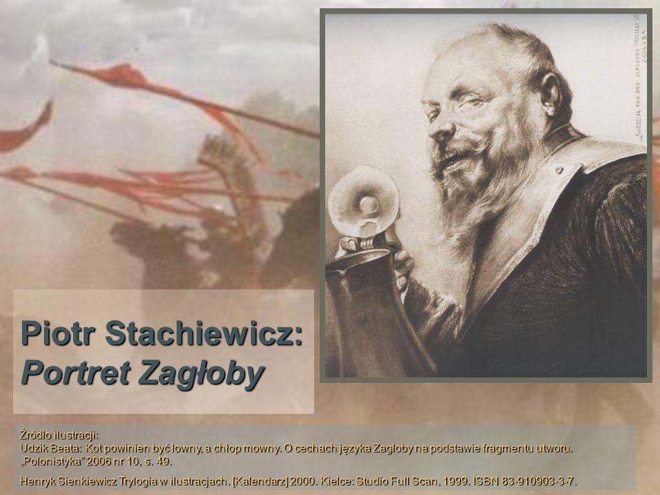 Piotr Stachiewicz: Portret Zagłoby